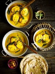 Maharashtrian spicy egg curry