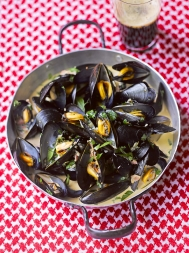 Mussels with Guinness