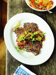 Jamie's flash steak