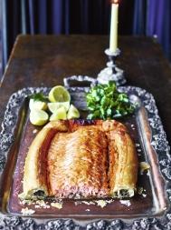 Salmon en croûte