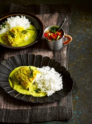 Keralan fish molee