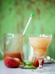 White peach cordial