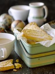 Gluten-free citrus shortbread