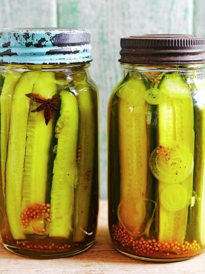 Spicy cucumber pickle