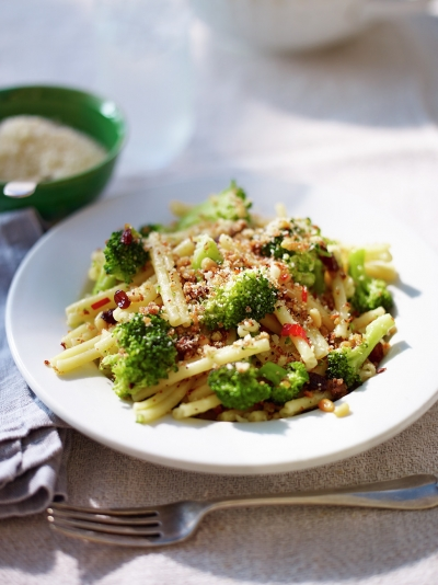 Casarecce with broccoli & anchovies
