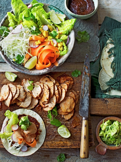 Mexican marinated pork tenderloin