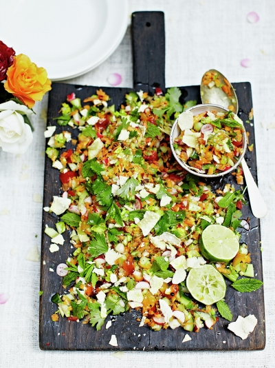 Indian chopped salad