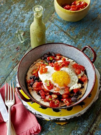 Quick Mexican breakfast