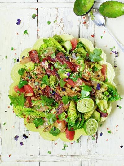 LA-style turkey salad