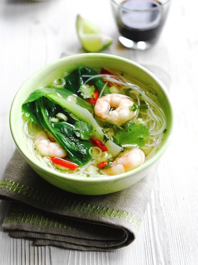 Simple noodle soup